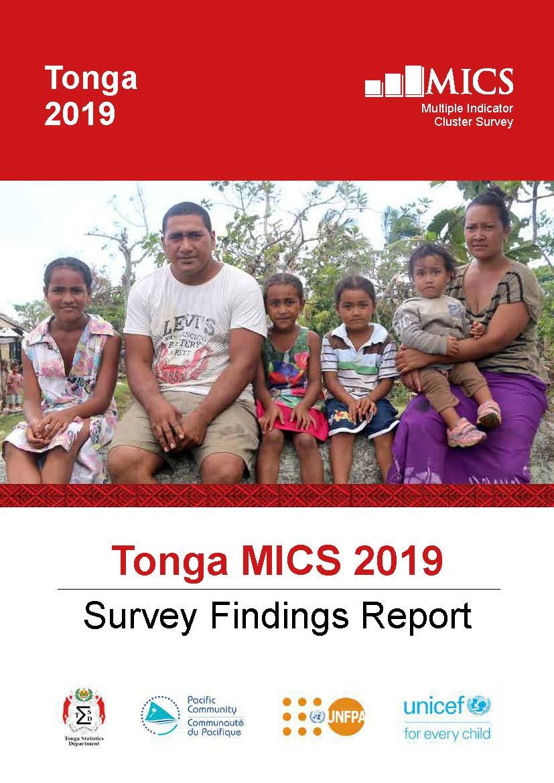 Tonga MICS 2019