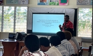 Participant at the GVB and SRH training facilitated by UNFPA Pacific