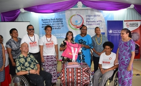 Launch of Women with Disability Dignity Kits