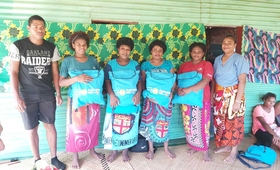 Dignity Kits distributed to the women affected by TC Yasa