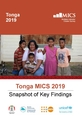 Tonga MICS 2019 Snapshot of Key Findings