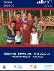 Fact Sheet - Samoa DHS - MICS 2019-20