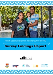 Kiribati Social Development Indicator Survey 2018-19 Findings Report